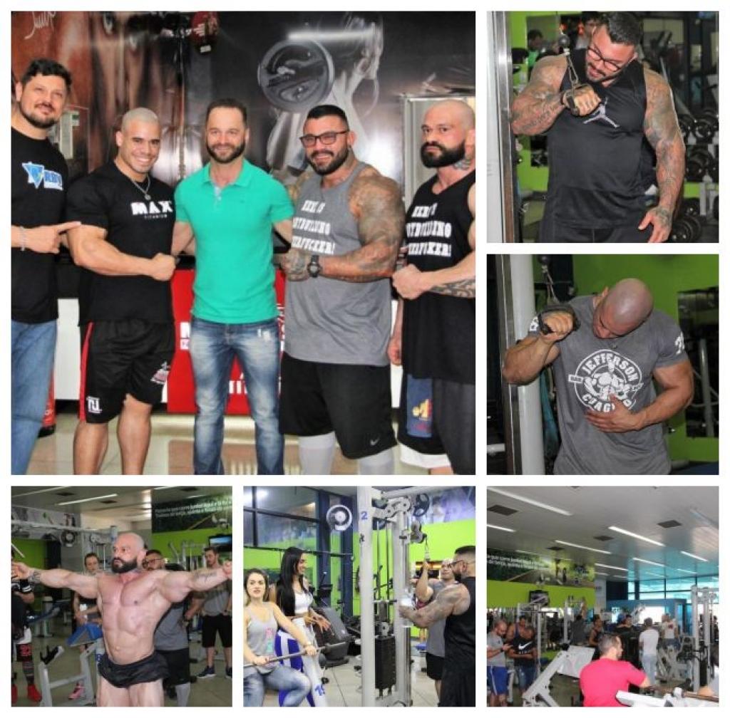 Giro Marília -RBV Academia traz campeões para treino e aulas de bodybuilding