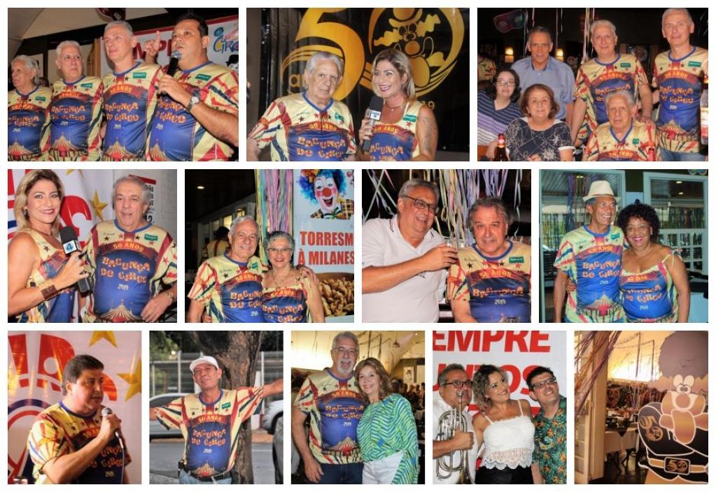 Giro Marília -Circo abre carnaval dos 50 anos com homenagens a filhos de fundadores