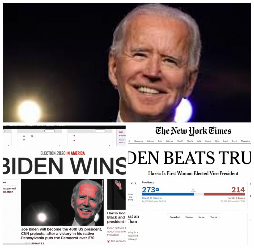Giro Marília -Joe Biden vence Trump nas eleições nos EUA mostram projeções