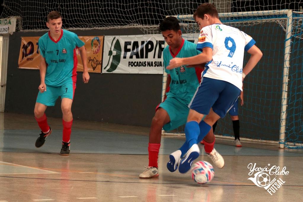 Giro Marília -Futsal do Yara acumula bons resultados em competição regional
