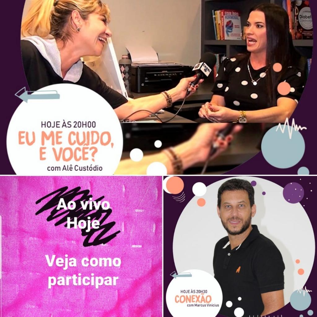 Giro Marília -Na TV - Alê Custódio entrevista nutri sobre imunidade e fala de quarentena
