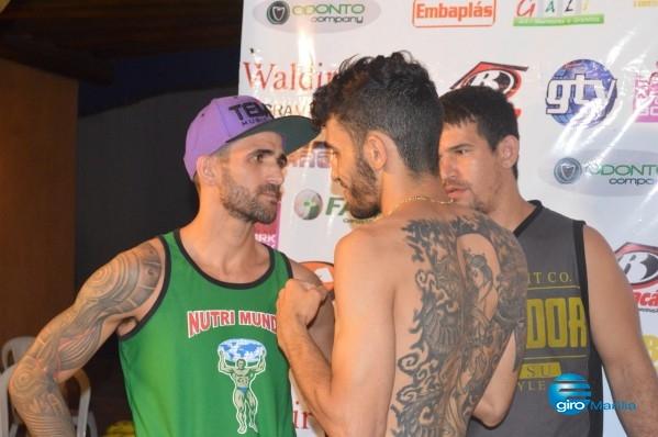 Giro Marília -MMA – Árbitro encerra combate e cria polêmica com mariliense; veja vídeo