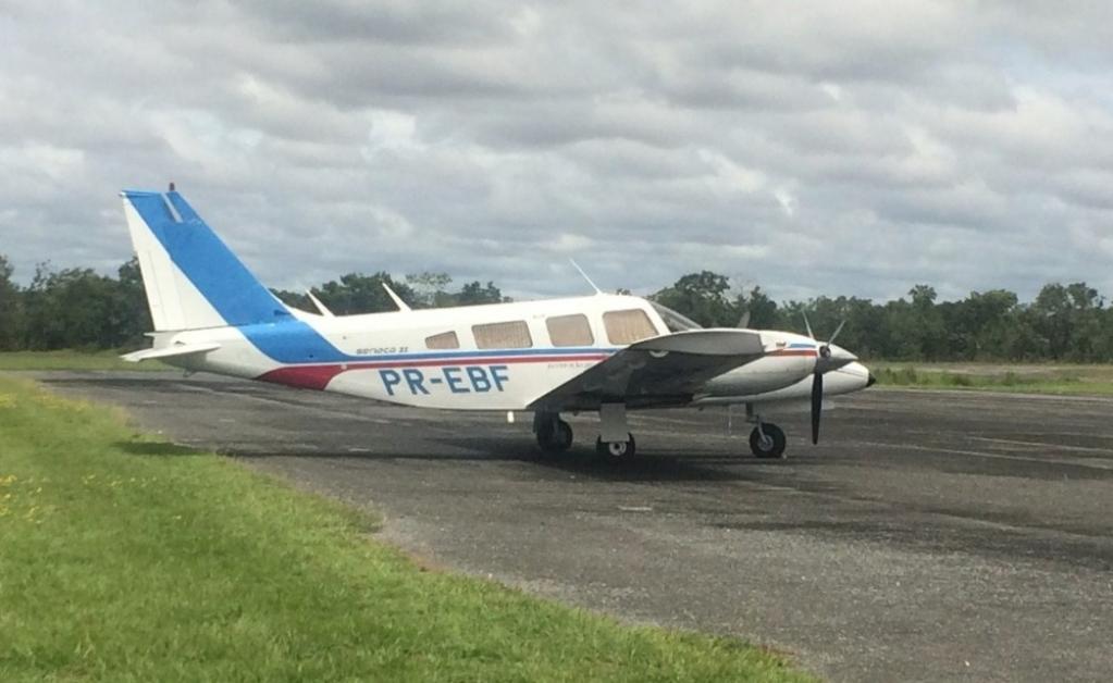 Giro Marília -FAB intercepta e força pouso de avião com 500kg de cocaína