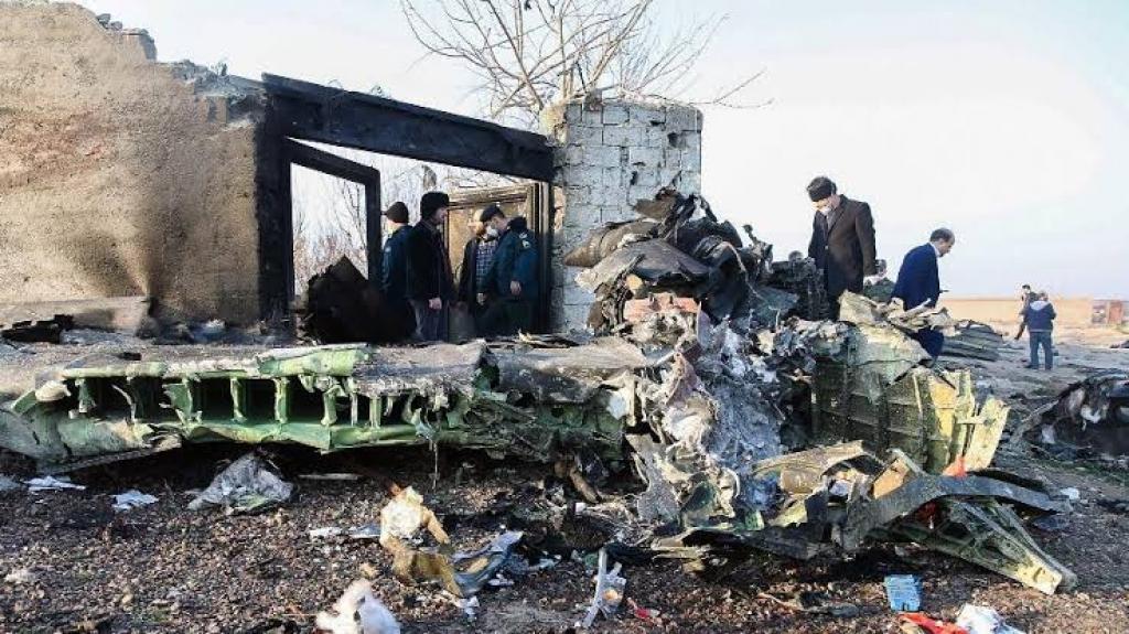 Giro Marília -Avião ucraniano cai no Irã e 176 passageiros morrem; causa ainda é desconhecida