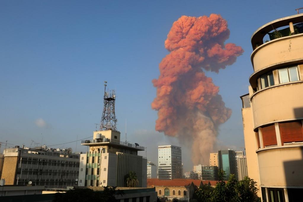 Giro Marília -Explosão na zona portuária de Beirute deixa vítimas e rastro de estragos; assista