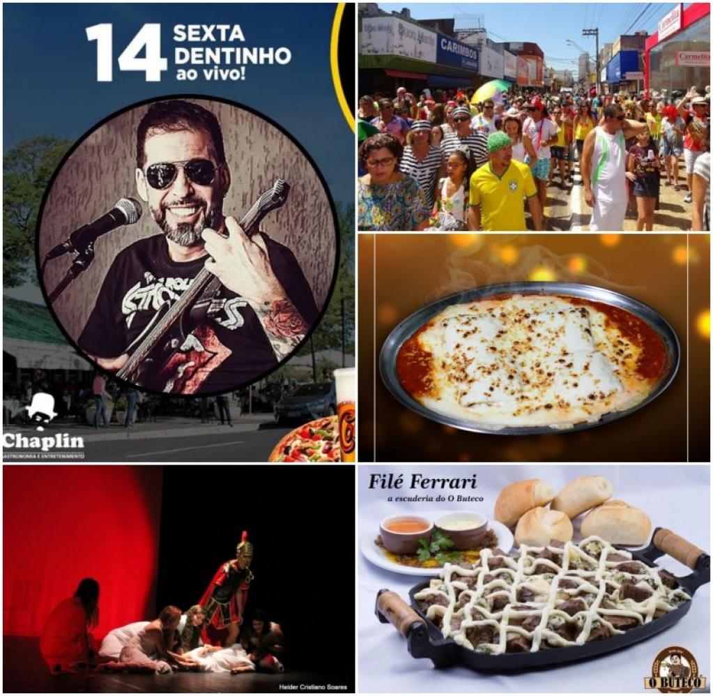 Giro Marília -Som nos bares, teatro, carnaval, desfiles, e mais na agenda de Marília