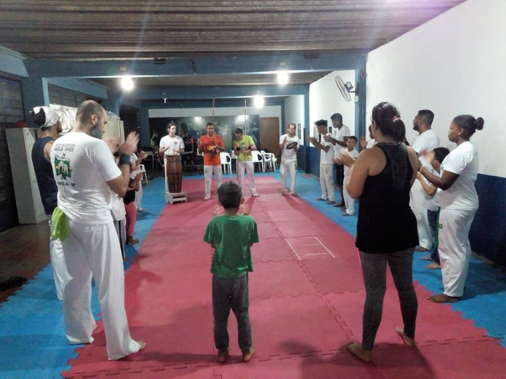 Giro Marília -Esportes abre inscrições para aulas gratuitas de capoeira