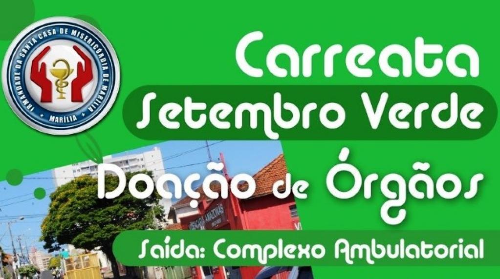 Giro Marília -Carreata neste sábado vai incentivar doação de órgãos em Marília