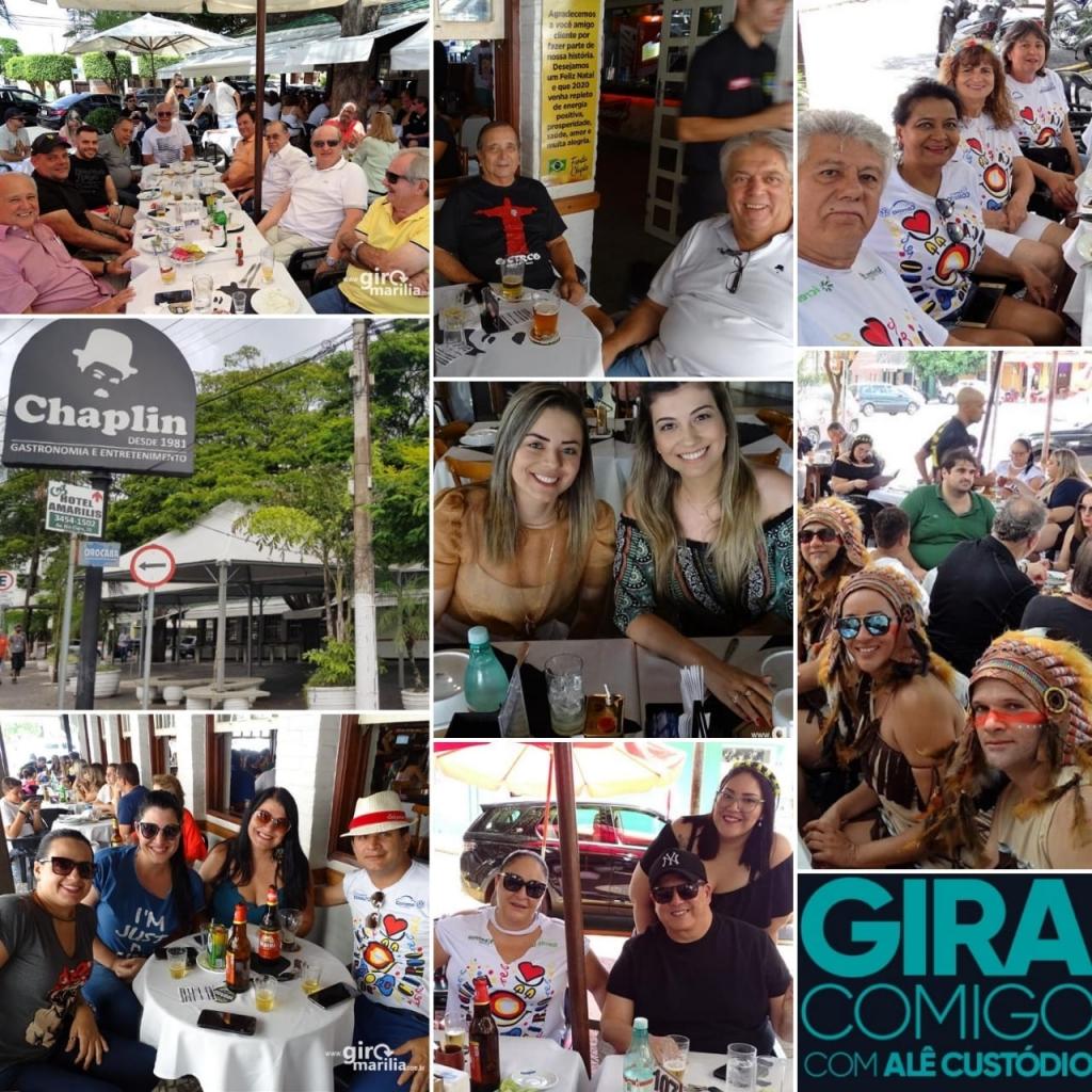 Giro Marília -Fotos - Sábado de samba, megaestrutura no Chaplin com resenha e Carnaval