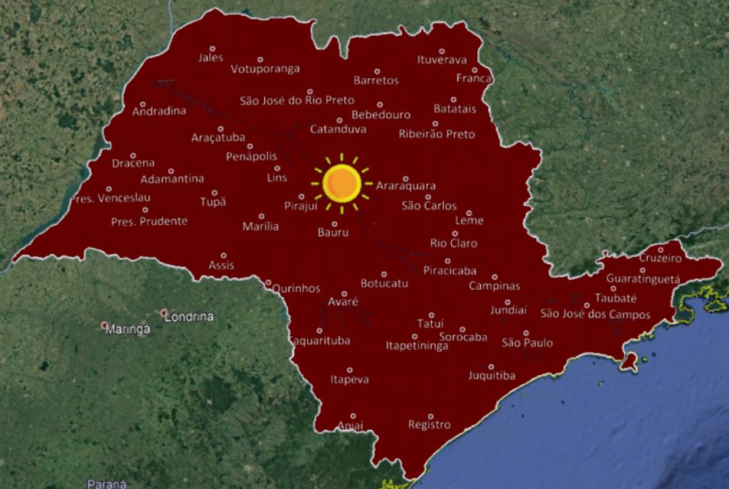 Giro Marília - Meteorologia prevê tempo aberto e dias frios em Marília durante a semana