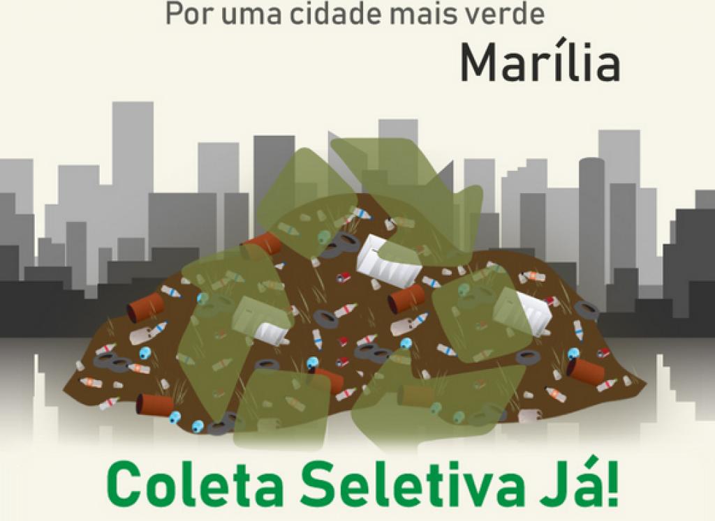 Giro Marília -ONG lança abaixo-assinado pela coleta seletiva de lixo em Marília