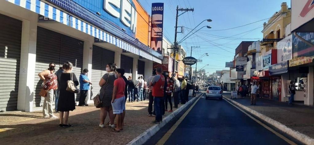Giro Marília -Procurador pede liminar contra abertura geral do comércio em Marília