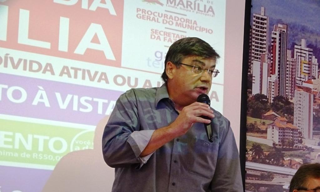 Giro Marília -Daniel quer criar secretaria e novos cargos comissionados