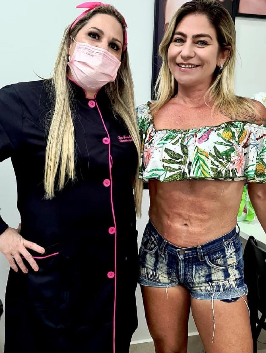 Giro Marília -Definição abdominal - Define e molda o músculo local