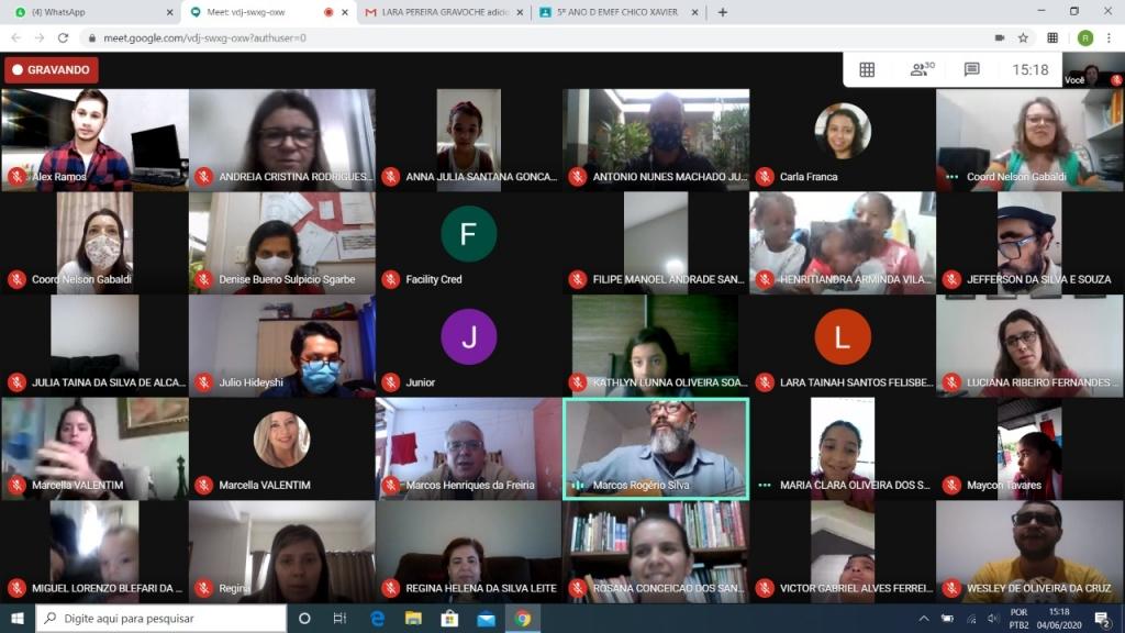 Giro Marília -Educação em Casa - Plataforma implantada pelo UNIVEM é sucesso na rede municipal