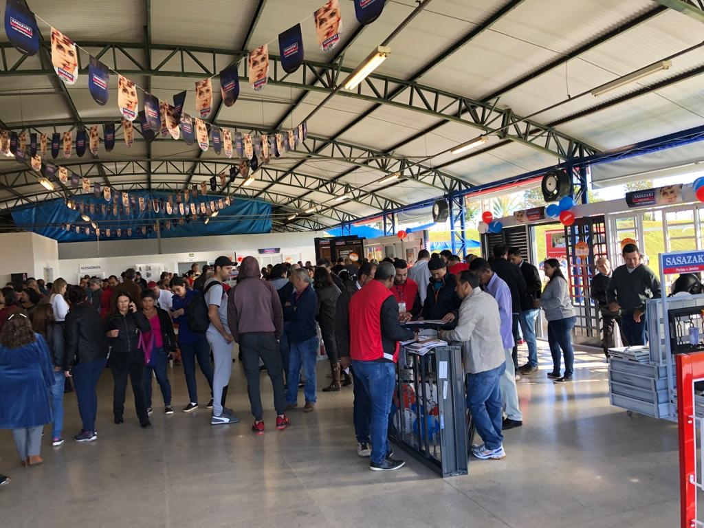 Giro Marília -Sasazaki faz Saldão de Fábrica com venda direta a consumidores em Marília