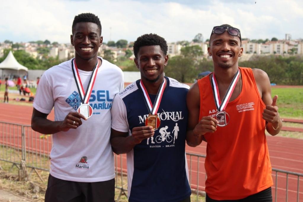 Giro Marília -Atletismo de Marília conquista prata nos Jogos Abertos do Interior