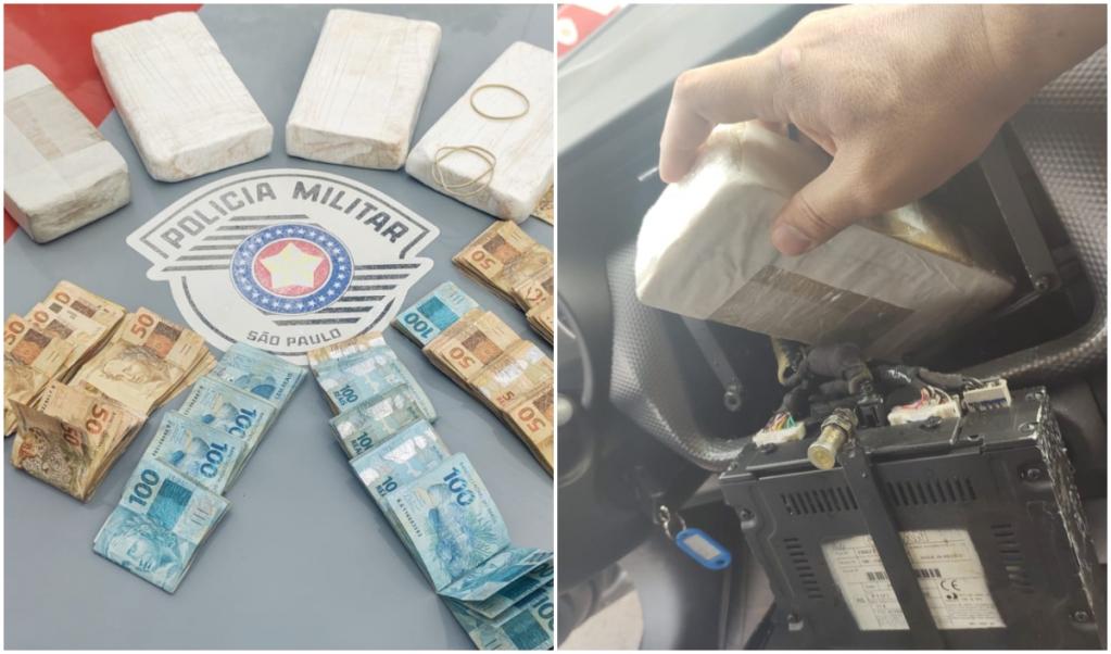 Giro Marília -PM prende dois por tráfico, apreende drogas e R$ 19 mil em casa de Pompéia
