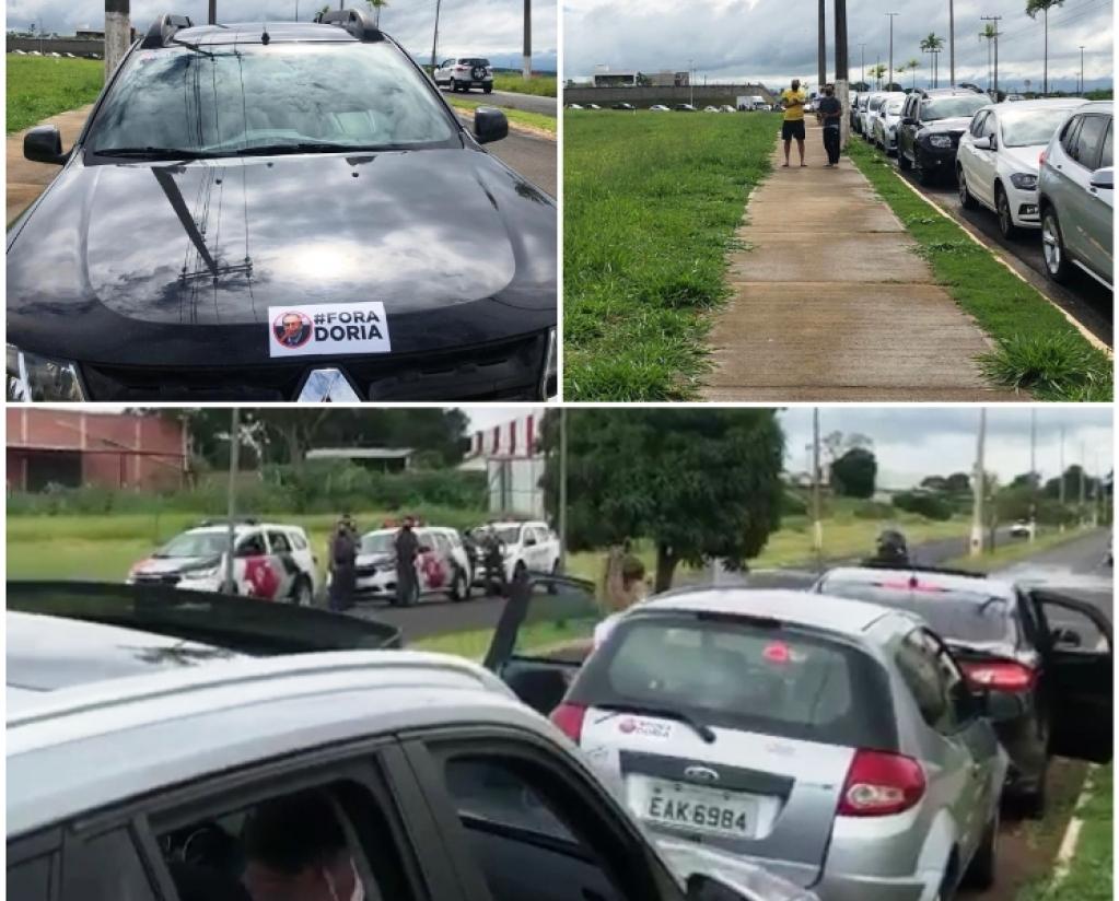 Giro Marília -Marília tem protesto contra Doria e mobilização por desobediência ao Plano SP