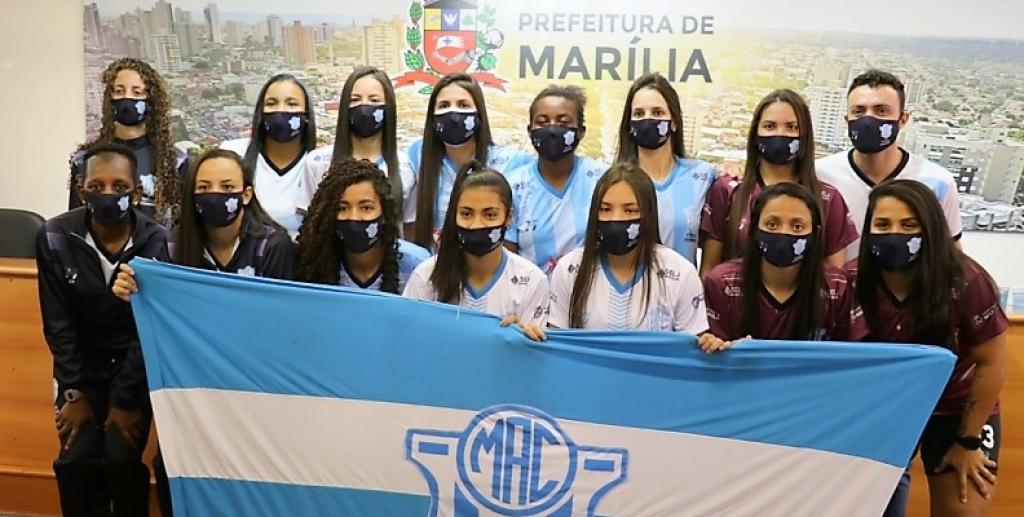 Giro Marília -Estreia de futsal feminino 'reativa' esportes coletivos em Marília