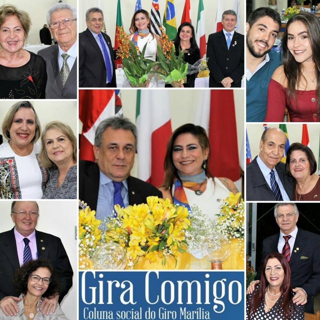 Giro Marília -Rotary Marília-Leste empossa diretoria, mostra trabalho e projetos