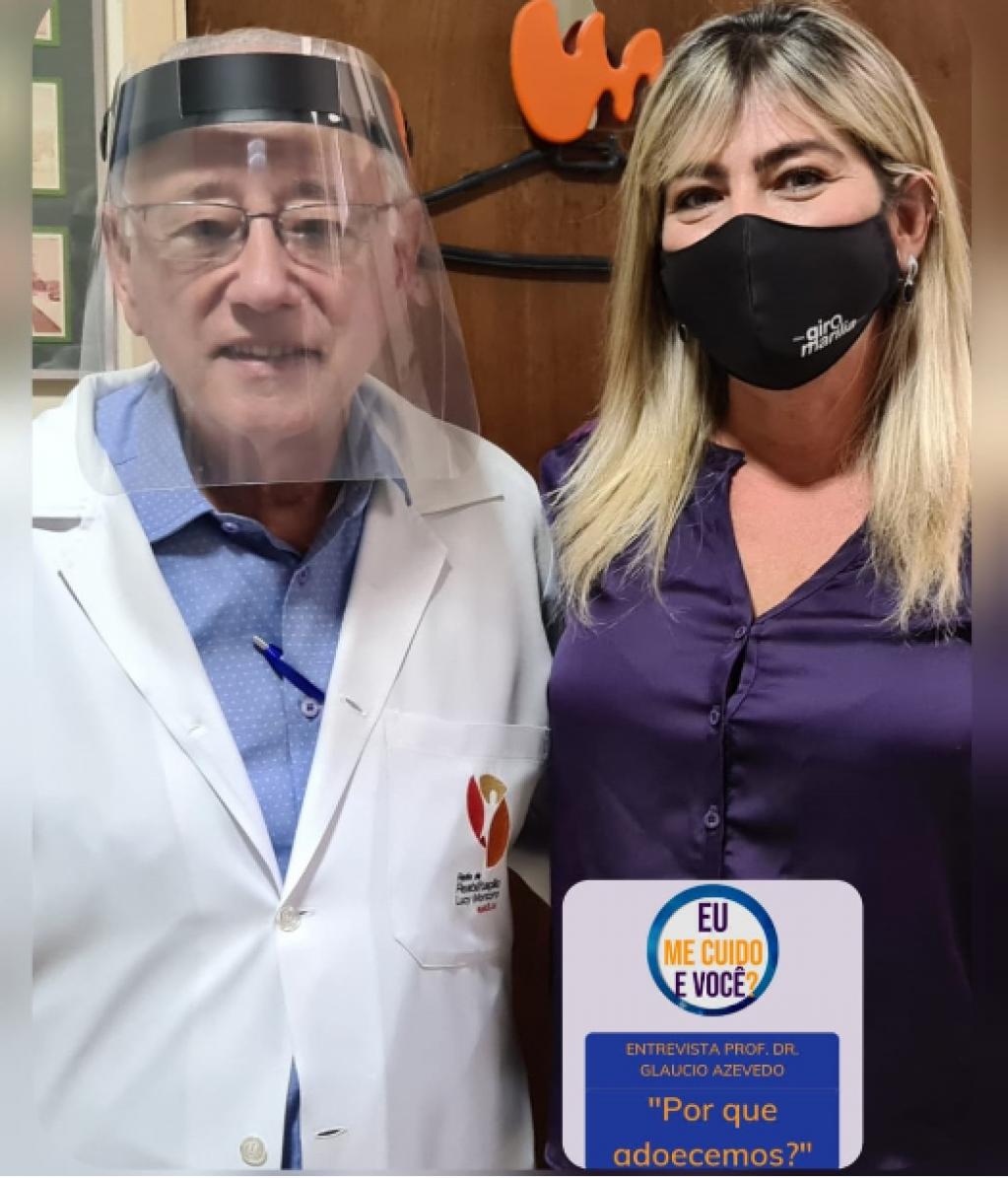 Giro Marília -Por que adoecemos? Dr Gláucio Azevedo orienta como evitar doenças