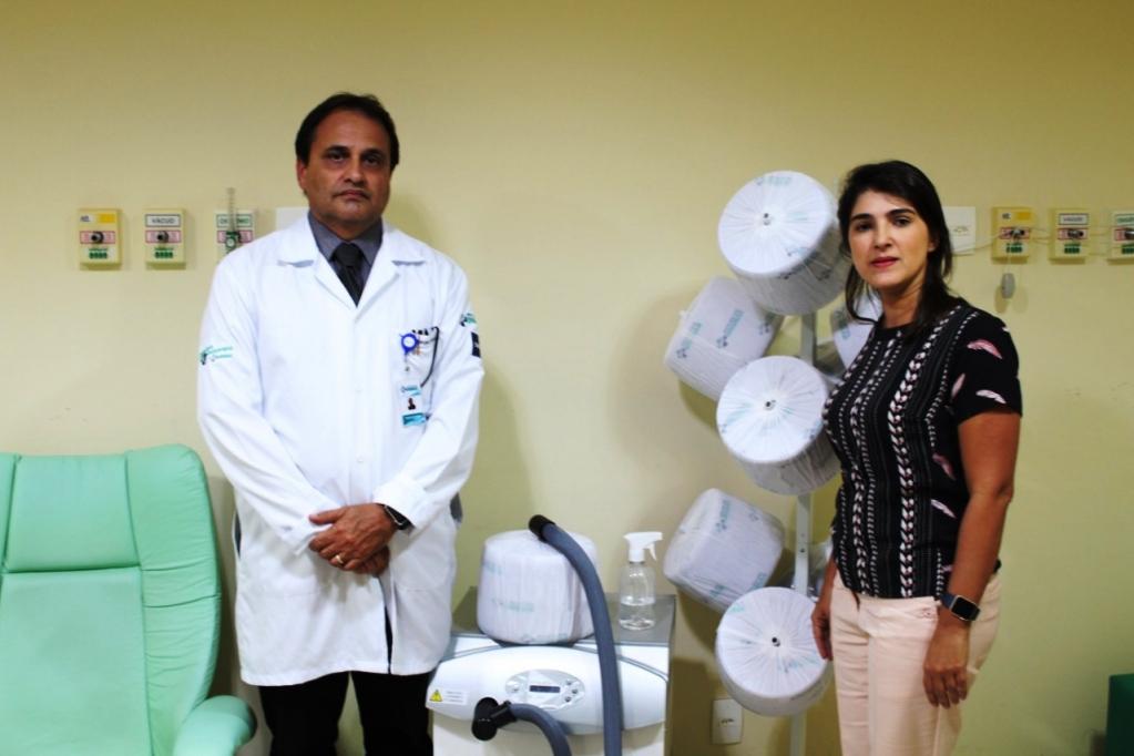 Giro Marília -HBU traz equipamento para reduzir queda de cabelo em sessões de quimioterapia
