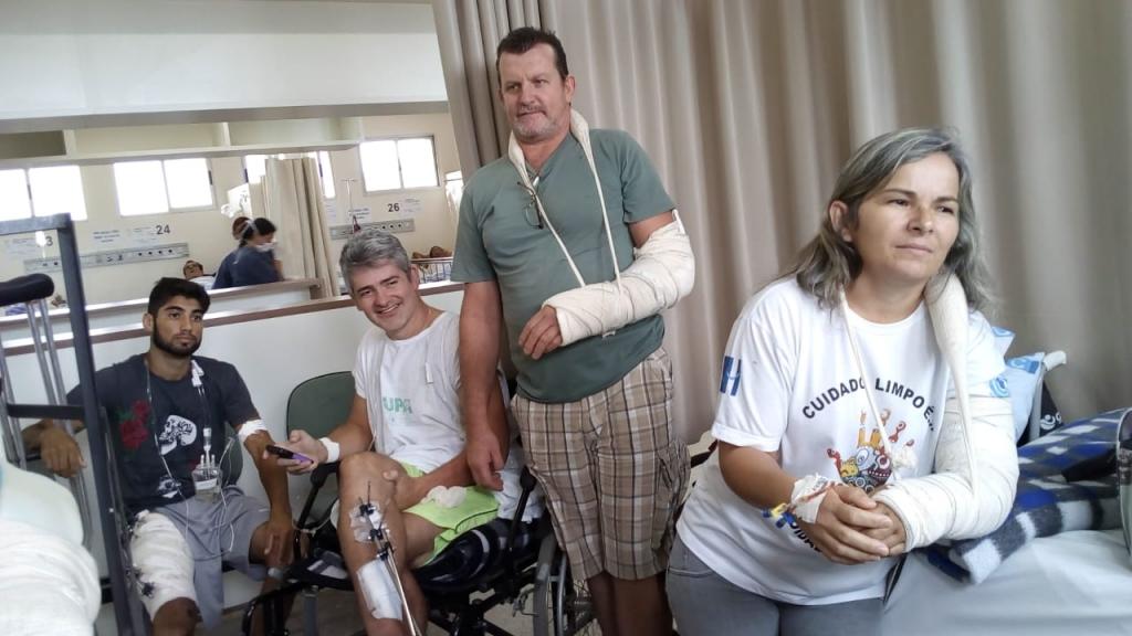 Giro Marília -HC transfere pacientes após transtornos com atraso de cirurgias