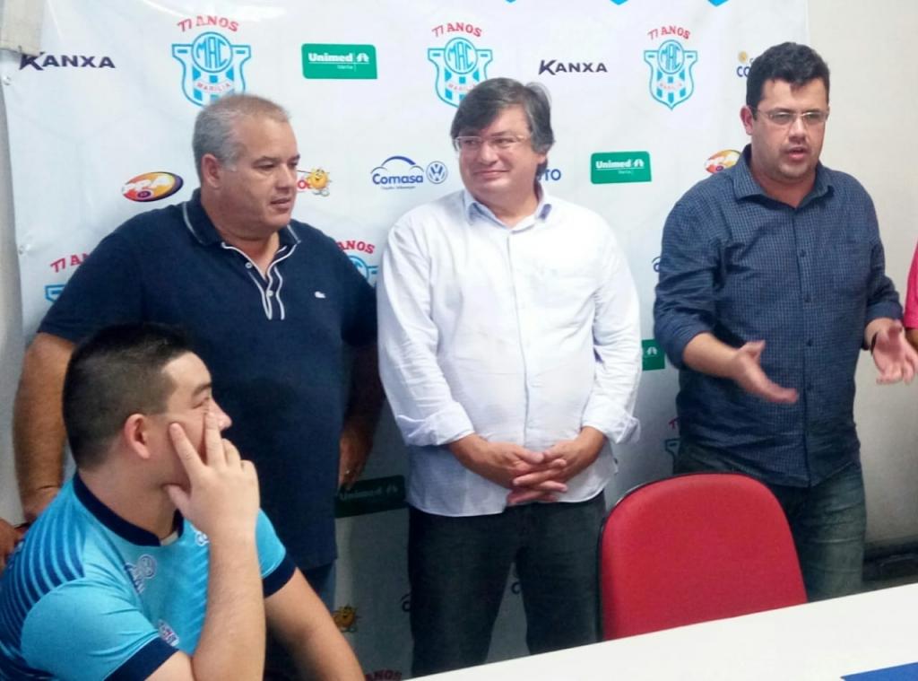 Giro Marília -Daniel é eleito no MAC, lista prioridades e não vê conflito com prefeitura