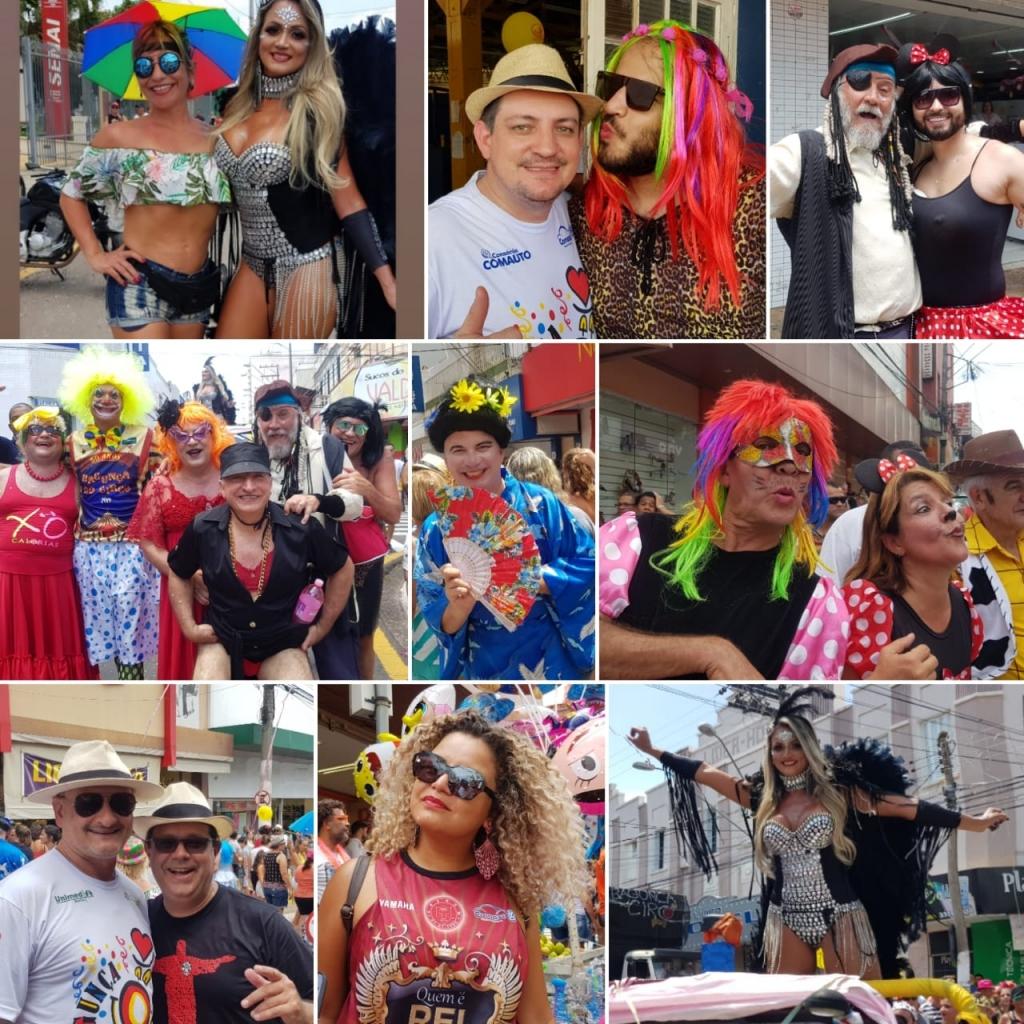 Giro Marília -Fotos - Bagunça do Circo desfila em Marilia com fantasias, animação e promove baile