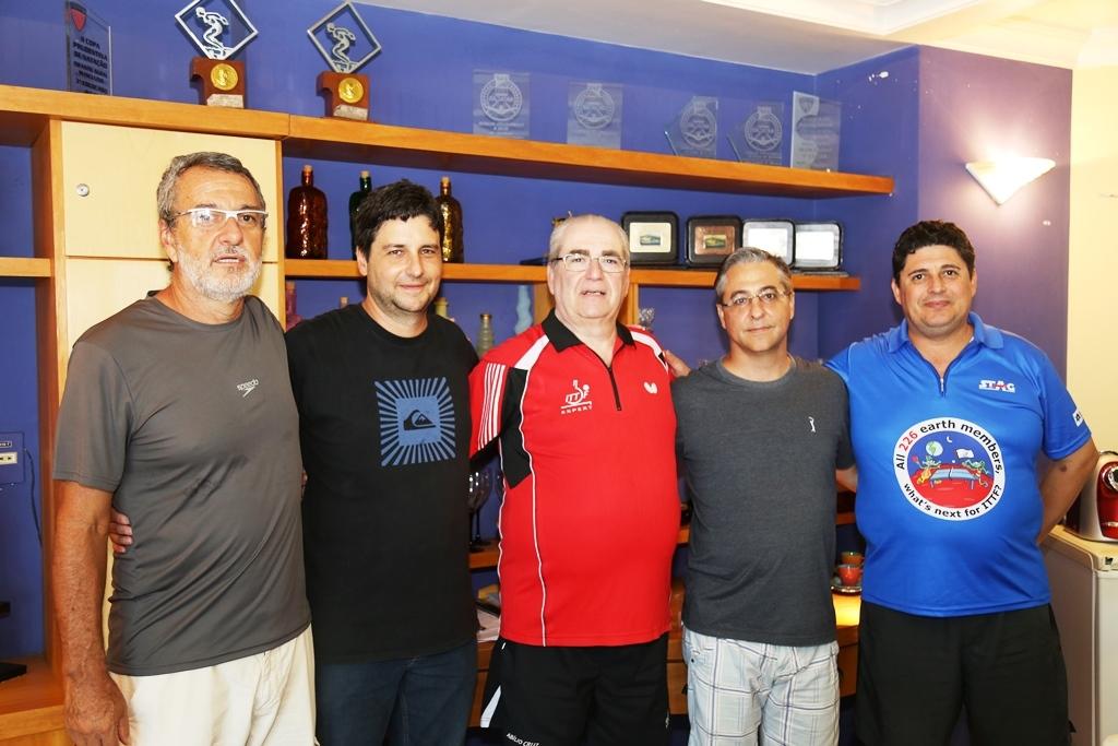 Giro Marília -Yara Clube de Marília recebe autoridade do tênis de mesa
