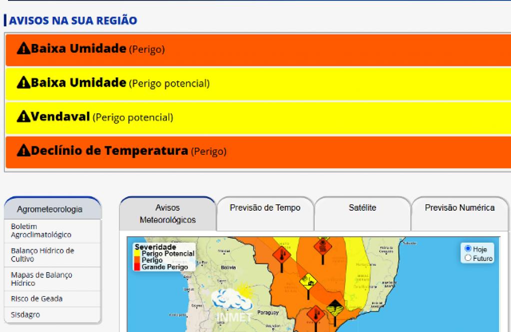 Giro Marília -Frio intenso chega na quarta e causa alertas em Marília e região; mínima abaixo de 5º