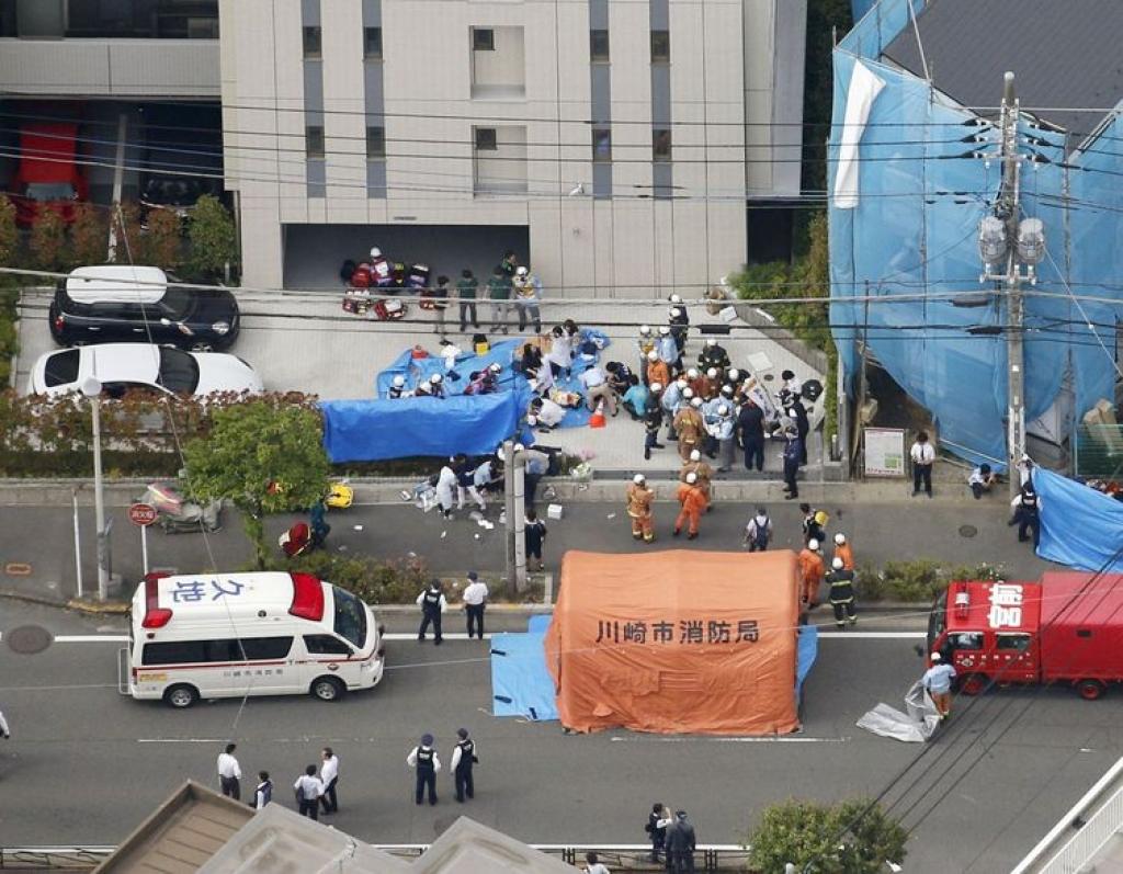 Giro Marília -Homem ataca grupo de estudantes com faca no Japão; duas mortes