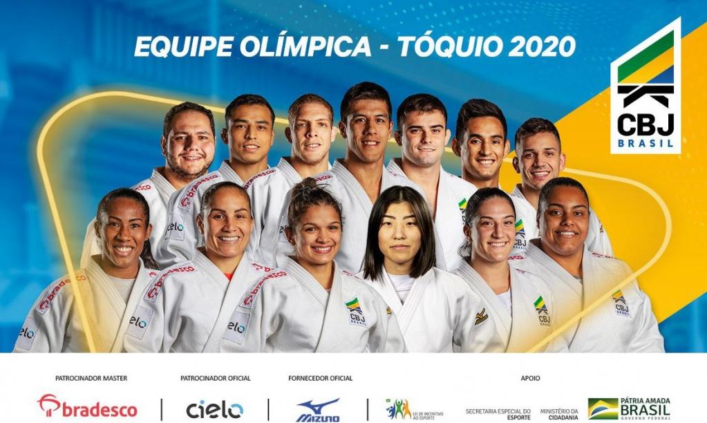 Giro Marília -Judô brasileiro anuncia 13 atletas que vão à Olimpíada de Tóquio