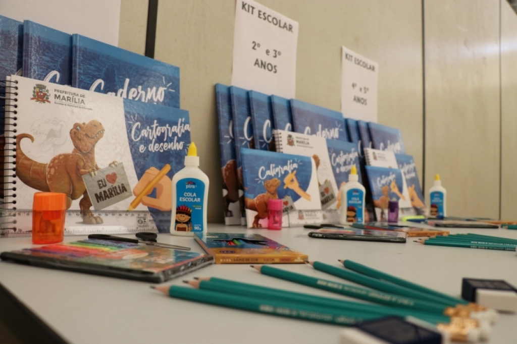 Giro Marília -Escolas municipais retomam aulas nesta terça; começa entrega de kits escolares