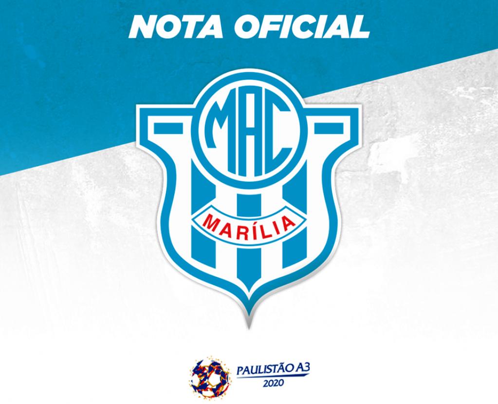 Giro Marília -Federação suspende jogos no Estado e adia disputas do Paulistão e do MAC na A-3