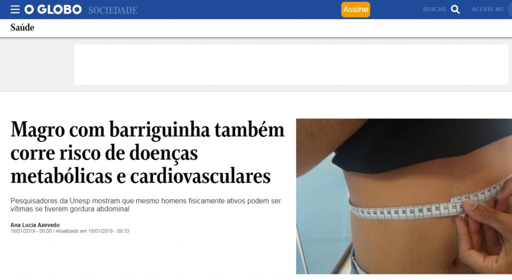 Giro Marília -Estudo de Marília mostra riscos da 'barriguinha' e repercute no país