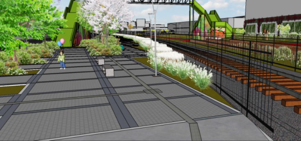 Giro Marília -Prefeitura contrata projeto de iluminação para parque linear em ferrovia