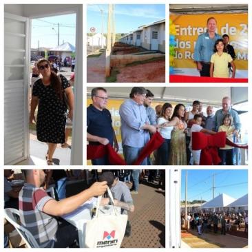 Giro Marília -Montana 2 entrega casas com anúncio de obras e expectativa de novos bairros