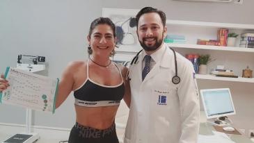 Giro Marília -EU ME CUIDO E VOCÊ - Alê atualiza exames e avanços com o endocrinologista Sérgio Nechar Jr