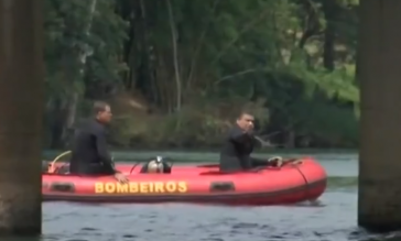 Giro Marília -Bombeiros de Marília ajudam em buscas de afogados em rio de Chavantes