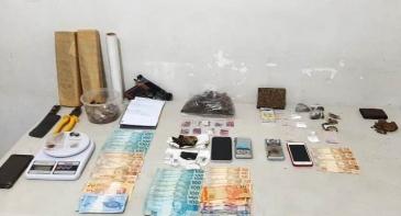 Giro Marília -Maconha, LSD, ecstasy e cogumelos – PM prende cinco por tráfico em bairro nobre