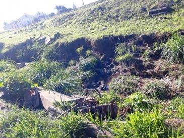 Giro Marília -Erosão próxima à ferrovia avança em Vera Cruz e denúncia chega até Rumo