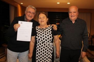 Giro Marília -Médico Antonio Losasso Neto recebe título em homenagem da Câmara