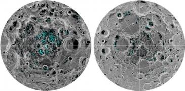 Giro Marília -Nasa identifica grandes depósitos de gelo na Lua