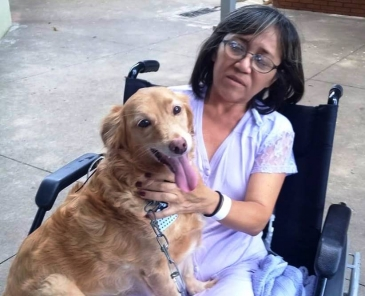 Giro Marília -Paciente pede e recebe visita de cachorro no HC de Marília