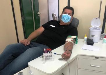 Giro Marília -Campanha incentiva técnicos e atletas a doar sangue em Marília