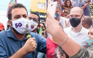 Giro Marília -São Paulo: Covas tem 57%, e Boulos, 43% dos votos válidos