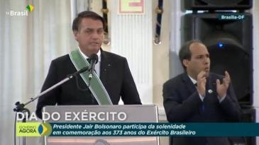 """Giro Marília -Bolsonaro exalta Exército: """"Para que ninguém ouse ir além da Constituição"""""""