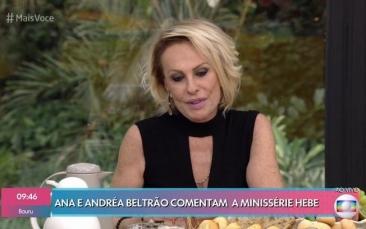 Giro Marília -Em luta contra o câncer, Ana Maria Braga posta foto com o olho roxo